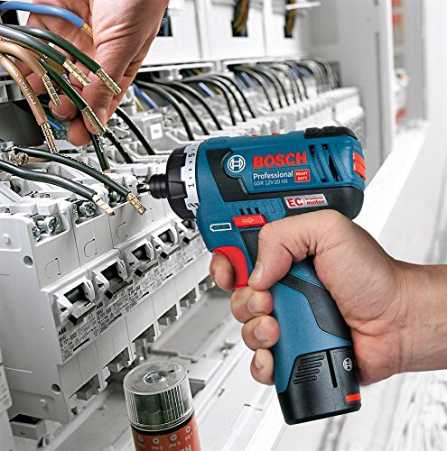 Bosch Professional GSR 12V-20 HX Akku-Schrauber 06019D4103 mit 1//4 zoll -Innensechskant Aufnahme, click/&go, ohne Akku, ohne Ladeger/ät in L-BOXX