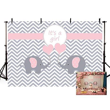 Amazon Com Mehofoto Cute Pink Princess Girl Baby Shower Banner