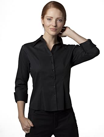 Bargear Camisa DE 3/4 Para Uniforme Para Mujer