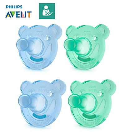 Philips AVENT Chupetes soothie//0 - 3 MO & 3 + Mo//(Talla 1 & 2 ...