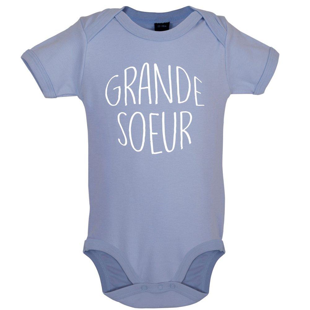 Grande Soeur - Bébé-Body - 7 Couleur - 0-18 Mois