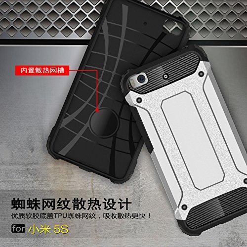 Fundas Xiaomi Mi Note 2,XINYUNEW TPU+PC [Regalo Cristal Vidrio Templado] Premium Armadura Híbrido caja de la armadura para el teléfono Silicona Carcasa Case Funda para Xiaomi Mi Note 2 Negro Rojo