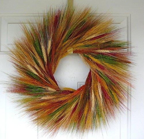 Desert Paint Wheat Wreath 19 inch - Paint Southwest