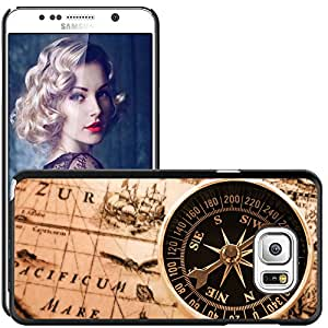 Print Motif Coque de protection Case Cover // V00001983 Antiguo mapa // Samsung Galaxy Note 5 V (Not fit S5)