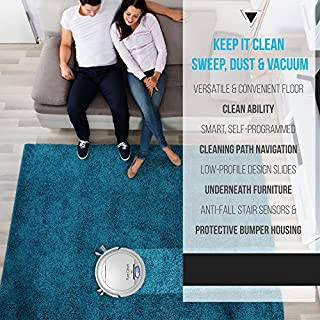 PureClean Automatic Robot Vacuum Cleaner - keep it clean