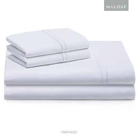 WOVEN SUPIMA Premium Cotton Sheets   100 Percent American Grown   Extra Long  Staple   Sateen