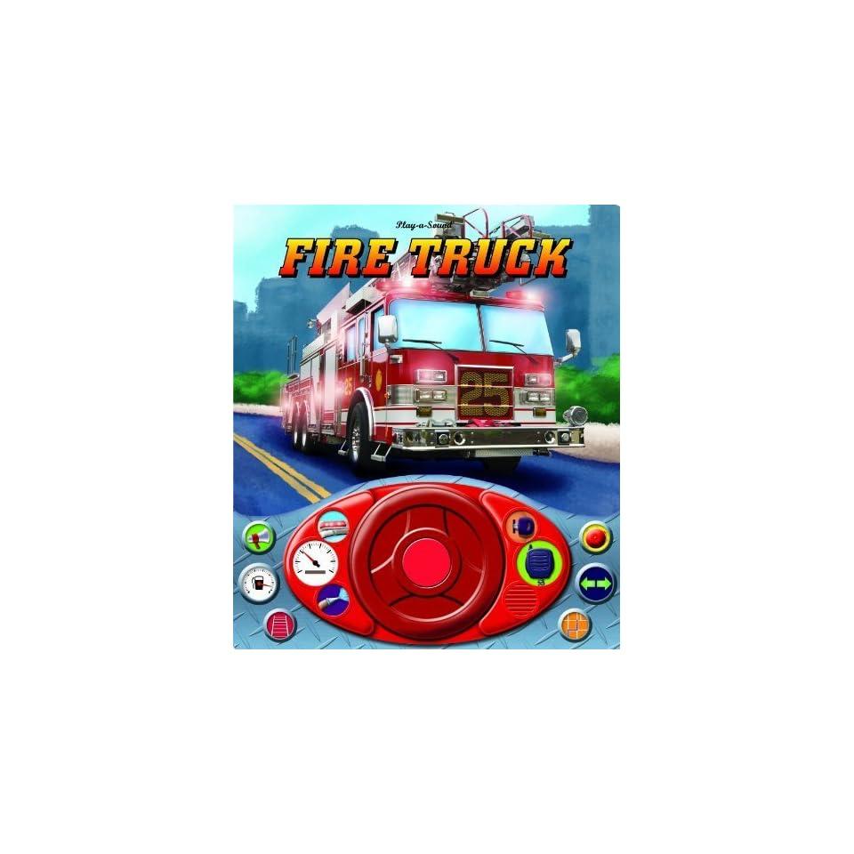 Fire Truck Steering Wheel Sound Book [Board book] Editors