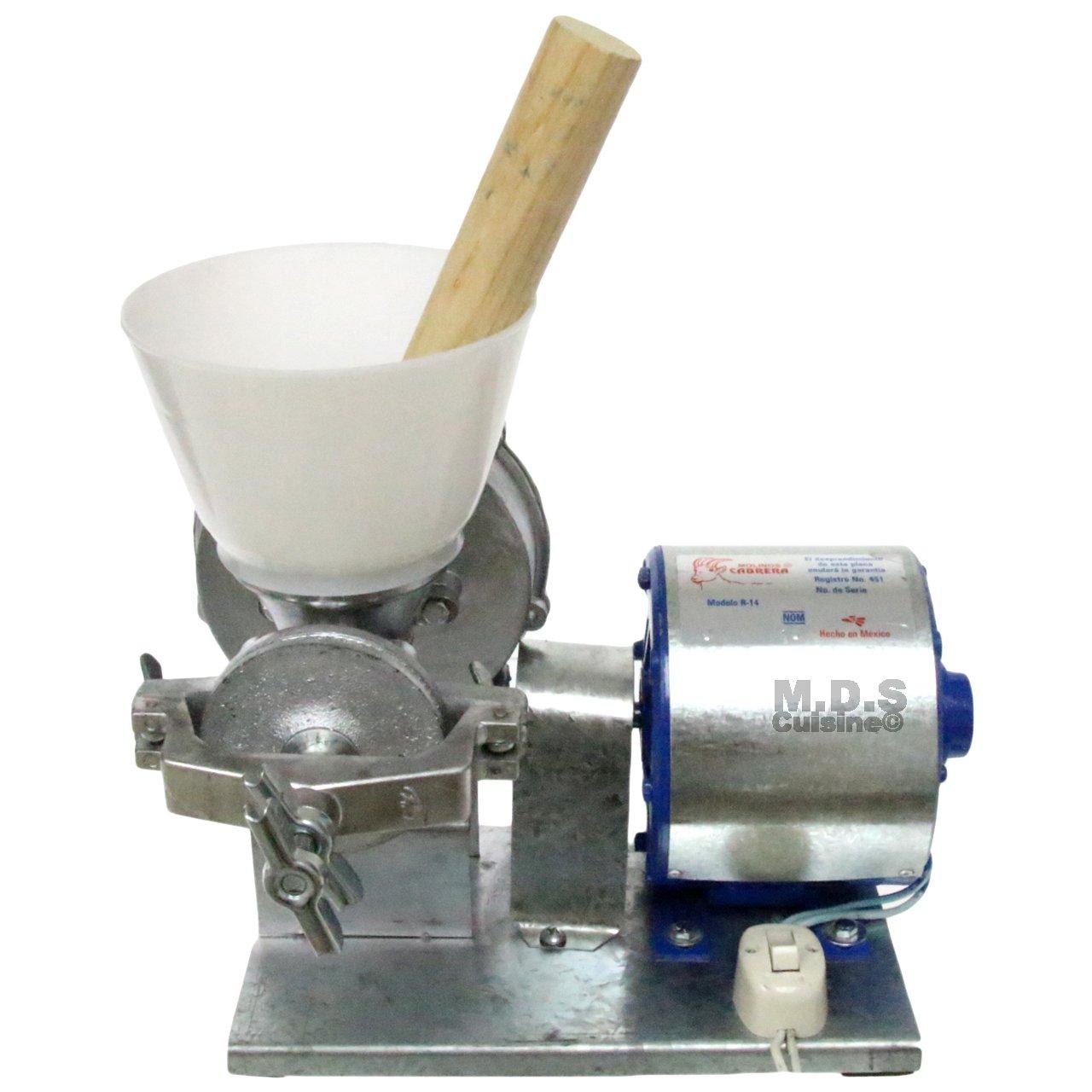 Electric Mill Corn Grain Wheat Grinder Heavy Duty Commercial Molino Maiz 1/4 HP