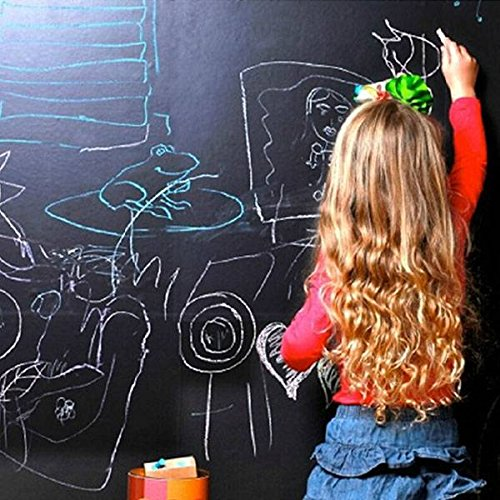 Skylimited Shopping 60x200CM Blackboard Wall Sticker Waterproof Chalkboard Decal Home