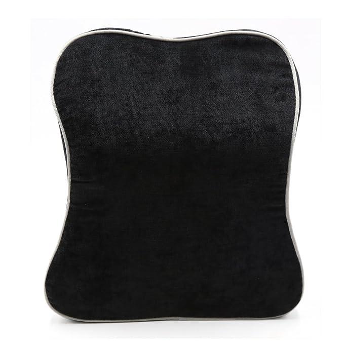 Amazon.com: eDealMax Negro pana apoyacabezas del asiento del ...