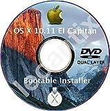 #7: MacOS Mac OS X 10.11 El Capitan DVD Disc Disk Full Install Installer Update Upgrade Recover Restore Backup