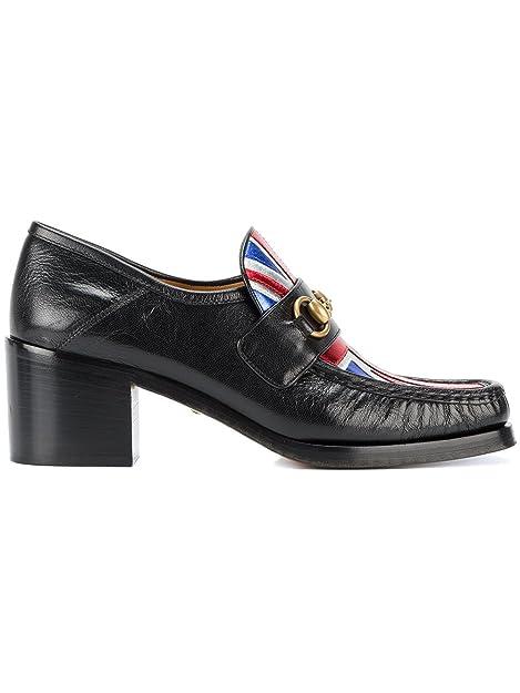 GUCCI - Mocasines Mujer, Negro (Negro), 37.5: Amazon.es: Zapatos y complementos