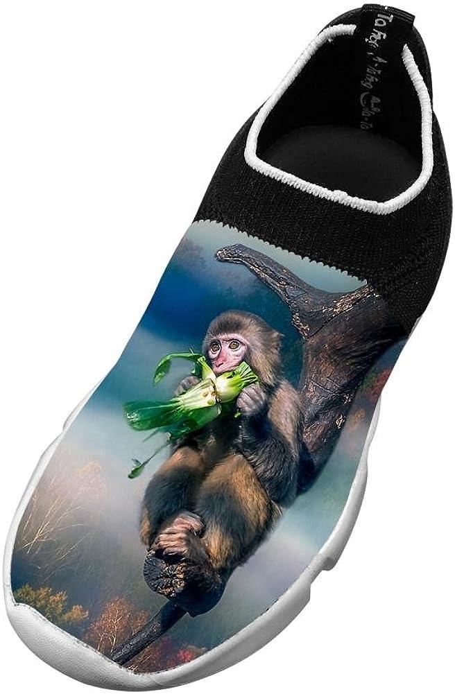 Monkey Bite New Summer Flywire Knitting 3D Printing Shoe For Unisex Child