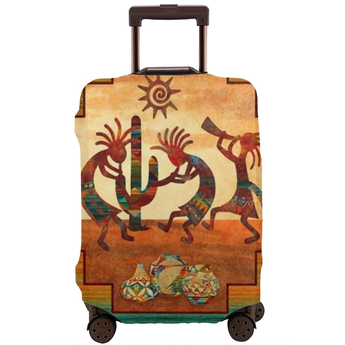 18-32 Inch luggage Cute 3D Luggage Protector Suitcase Cover S M L XL Baby Dinosaur Pattern XL