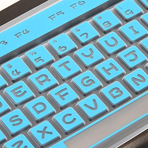 Buy hp desktop keyboard cover blue