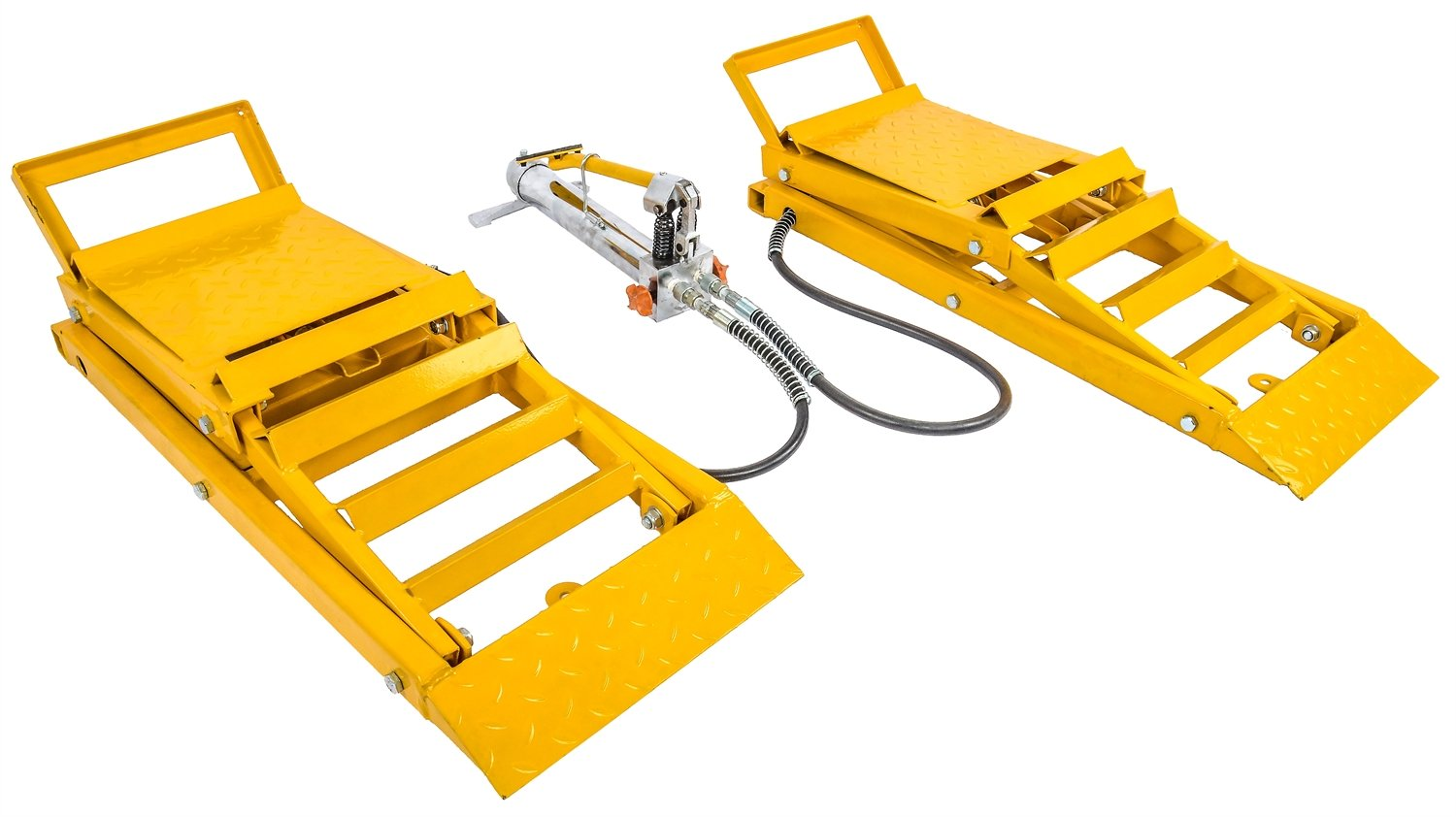 JEGS Performance Products 79004 Hydraulic Car Lift Ramps Capacity: 3000 lb/pair