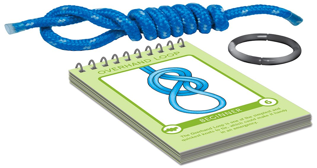 Think Fun Brain Fitness Knot So Fast Innovative Knot Tying Game with 40 Challenges