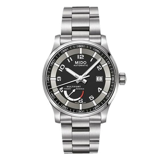 Mido Reloj Analógico para Hombre de Automático con Correa en Acero Inoxidable M005.424.11.