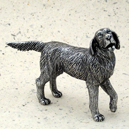 Animal Figurines Pewter - DANFORTH - Retriever Dog - Pewter Figurine - 2 3/4 Inches - Handcrafted - Made in USA