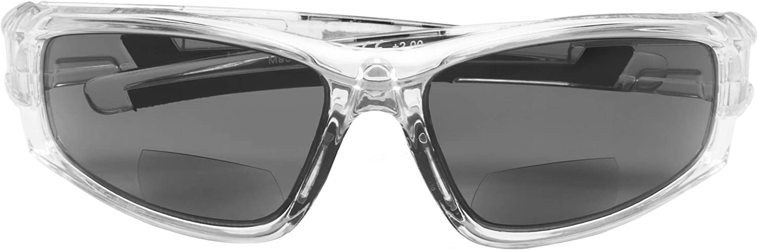 Bifocal Sports Sunglasses TR90 Frame Outdoor Reading Sunglasses