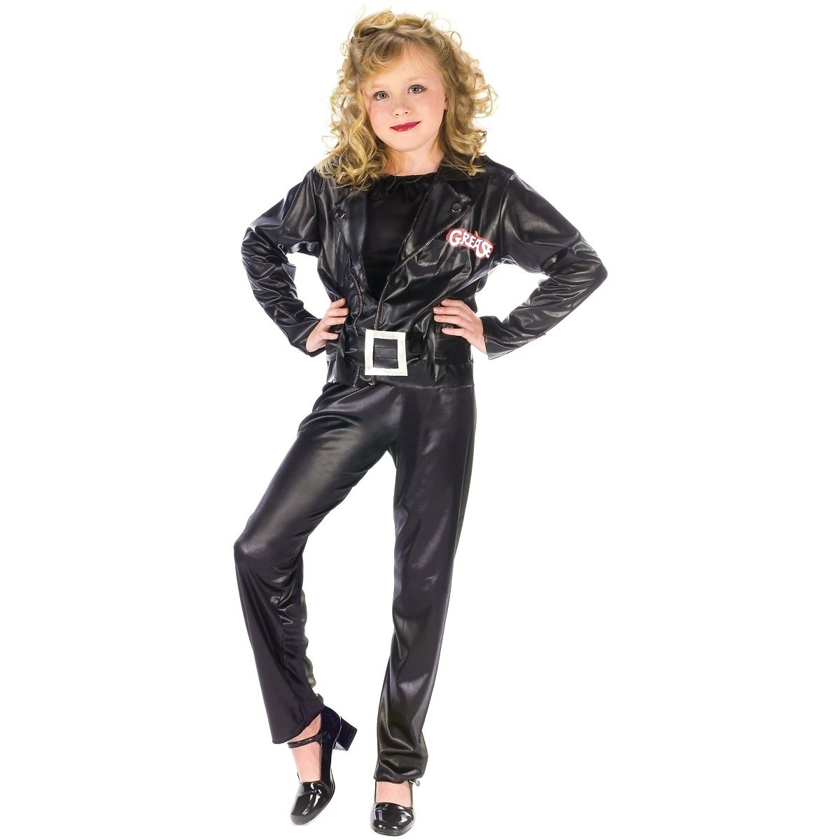 sc 1 st  Amazon.com & Amazon.com: Grease Cool Sandy Child Child Costume - Large: Toys u0026 Games
