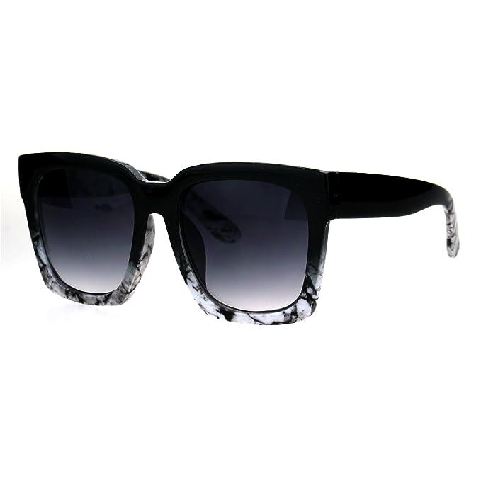Amazon.com: Gafas de sol cuadradas de gran tamaño para mujer ...