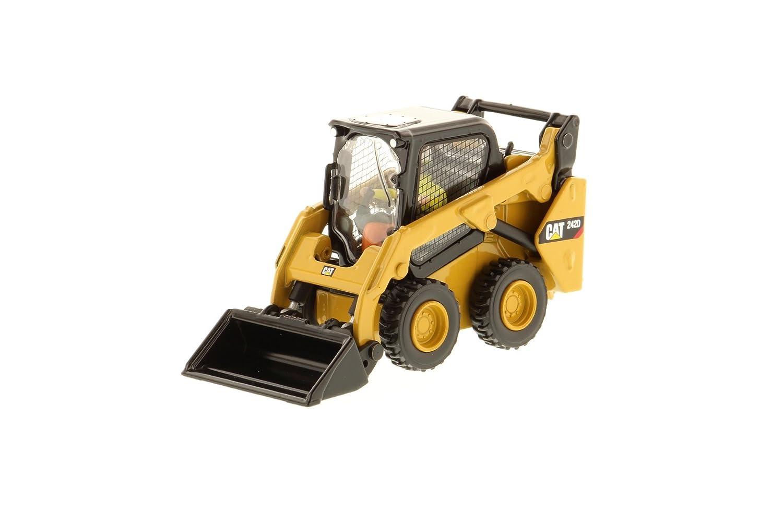 Caterpillar 85525 1:50 Scale CAT 242D Skid Steer Loader, High Line Model DCM85525