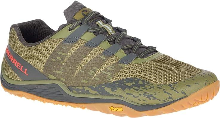 Merrell Trail Glove 5 – Zapatillas, Verde (Olive Drab/Beluga), 43.5 EU: Amazon.es: Zapatos y complementos