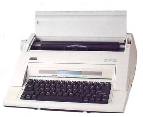 Nakajima máquina de escribir electrónica con pantalla