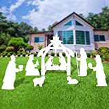 Outdoor Nativity Set, Full Yard Nativity Scene for Classic Christmas Story
