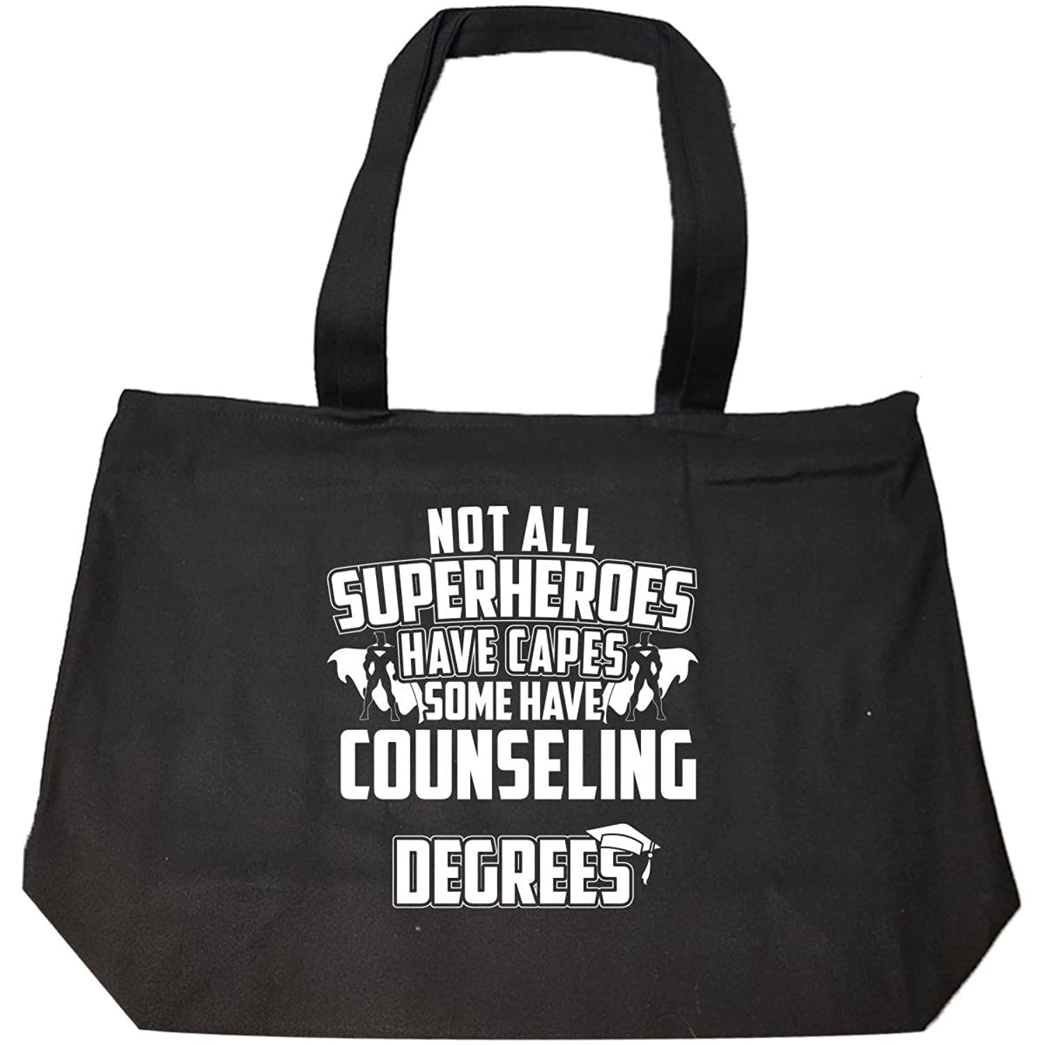 Amazon Not All Superheroes Have Capes Counseling Degrees Tote