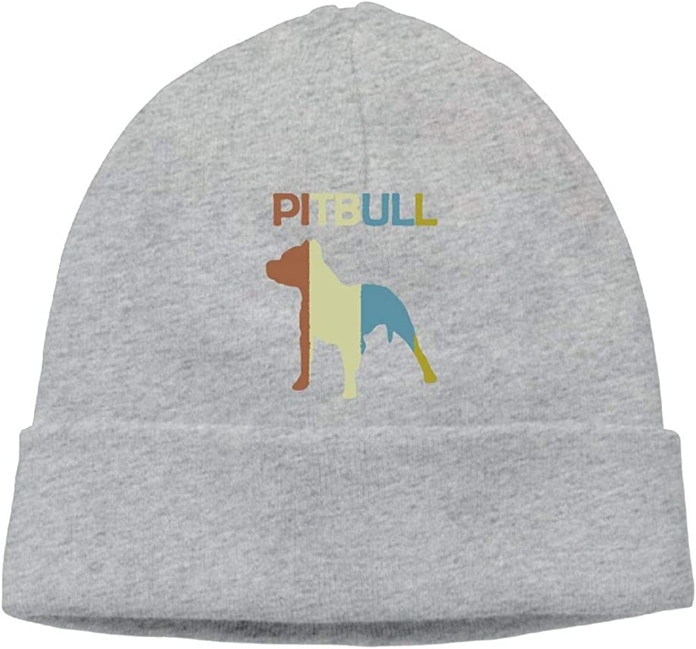 COLLJL8 Men /& Women Pitbull Vintage Outdoor Wool Beanies Hat Soft Winter Knit Caps