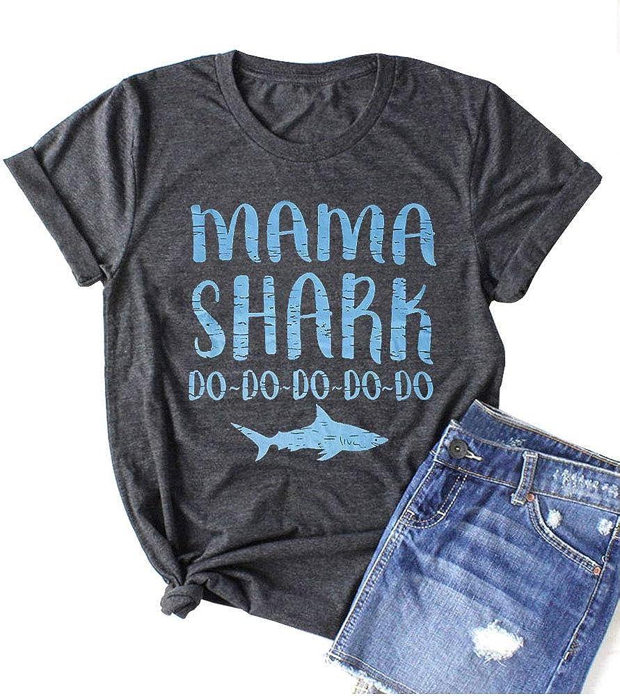Mama Shirt for Women Funny Shirt Mom Life Shirt Cute Graphic Tee Shirt