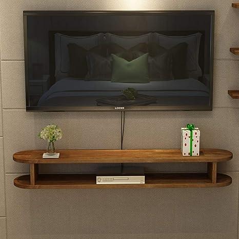 XINGPING-Shelf Pequeño apartamento de Madera Maciza, Mueble ...