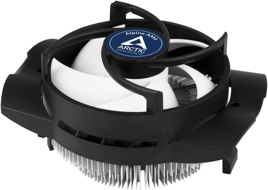 ARCTIC Alpine AM4 Procesador Enfriador - Ventilador de PC (Procesador, Enfriador, Socket AM2, Socket AM3, Socket AM3, Socket AM3+, Zócalo AM4, Socket FM1, Socket FM2, 9,2 cm, 100 RPM, 2000 RPM)