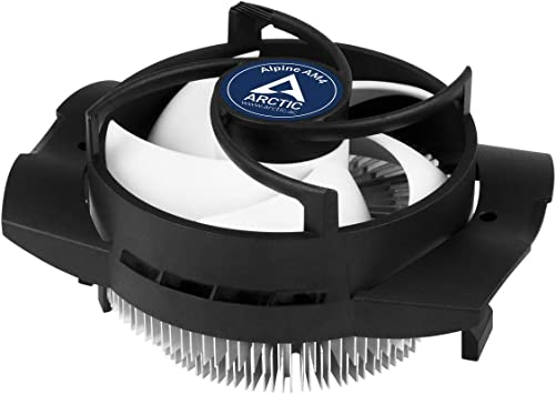 Compact CPU Cooler for AMD Socket AM4//AM3//AM2 Silent Fan and Quiet Processor Cooler High Cooling Performance ARCTIC Alpine AM4 PWM Technology Up to 95 W Easy Installation and Long Service Life