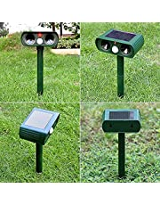 Cat Repellent, Ultrasonic Animal Repeller Solar Powered IPX4 Waterproof with motion sensor for Cats