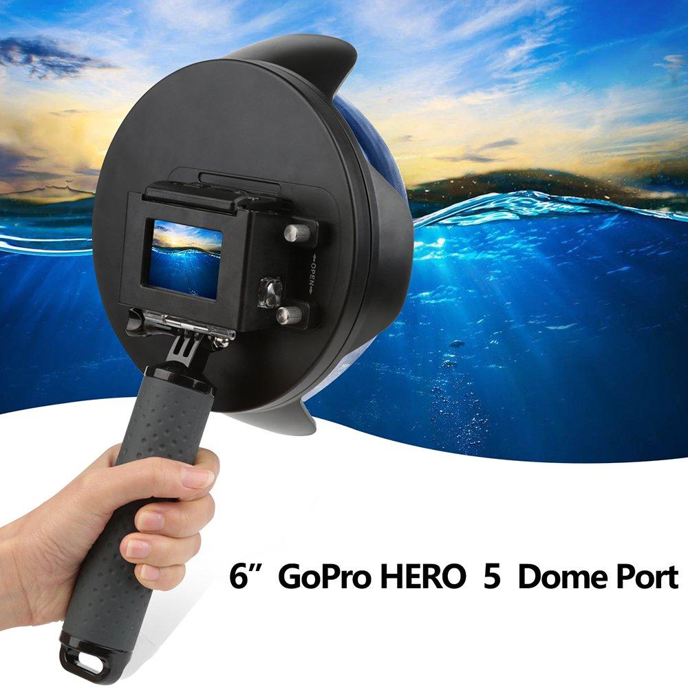 Shoot Underwater Lens Hood Dome Port for GoPro HERO7 Black/HERO6/HERO5/HERO2018 Action Camera (Shoot Official Accessory) (XTGP376B) by unbrand (Image #4)