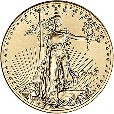 2017 American Gold Eagle (1/2 oz) $25 Brilliant Uncirculated US Mint