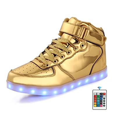factory price 1bcbd 91333 Qkettle Kids 20 Models LED Shoes Boys Girls Light Up Sneakers with Remote  Control(39