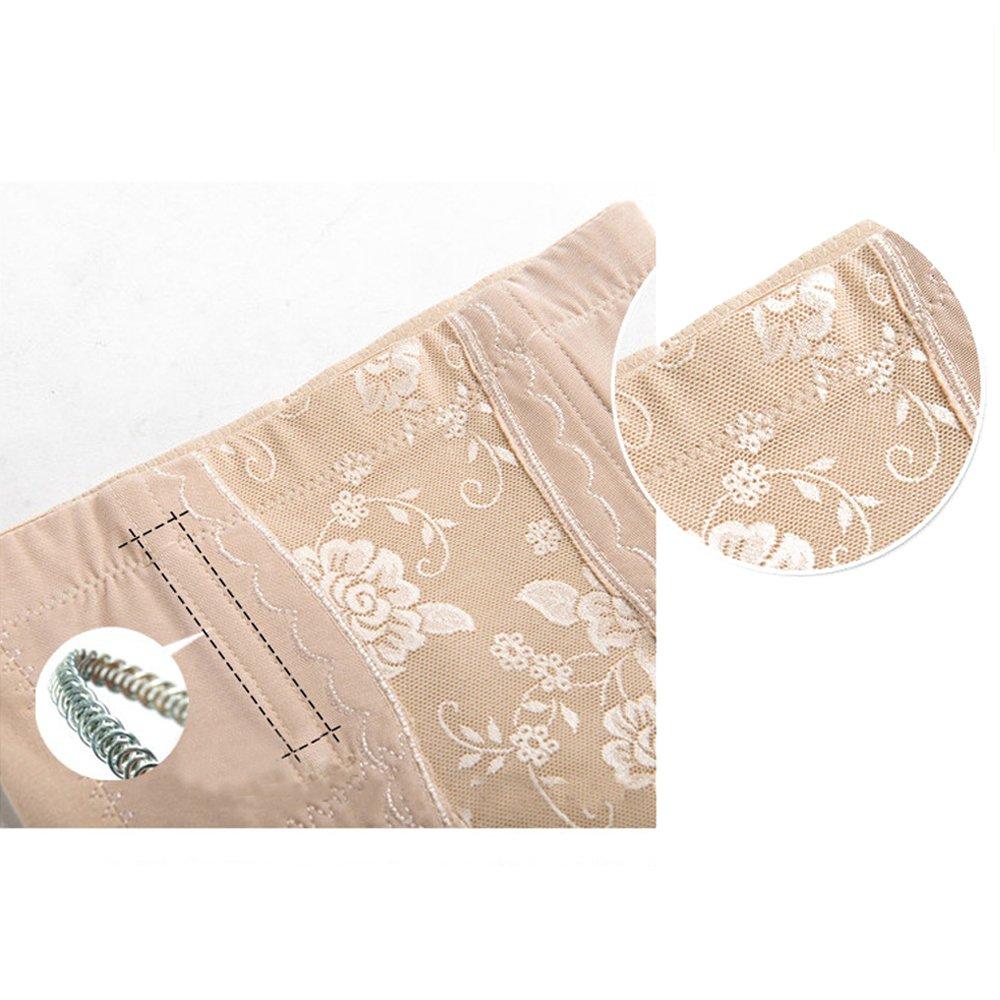 BOZEVON Damen Baumwolle Hohe Taille Shapewear Miederhose Bauch Weg Effekt Stark Formend Miederslip Taillenformer Shaper Figurformende W/äsche