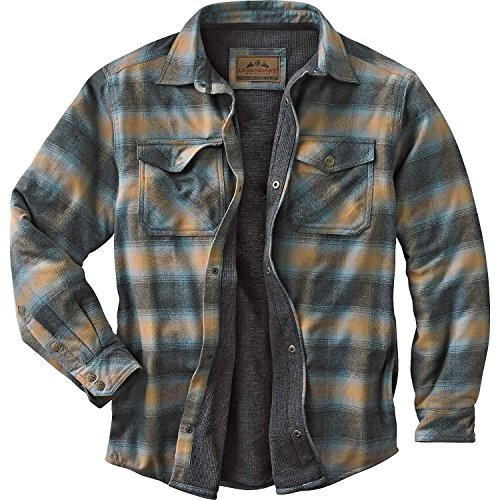 Fleece Lined Flannel Shirt For Men Amazon Com