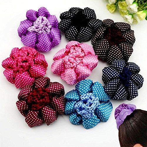 Hot Snood Hair Net Nets Hair Accessories Ballet Dance Skating Crochet Snoods ()