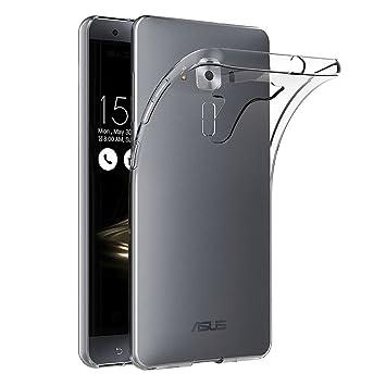 AICEK Funda ASUS Zenfone 3 Deluxe ZS570KL, Transparente Silicona Fundas para ASUS Zenfone 3 ZS570KL Carcasa Silicona Funda Case (5,7 Pulgadas)