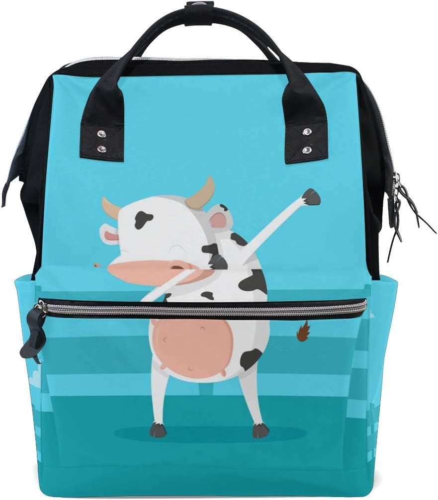 FANTAZIO Animal Cow Suitcase Protective Cover Luggage Cover