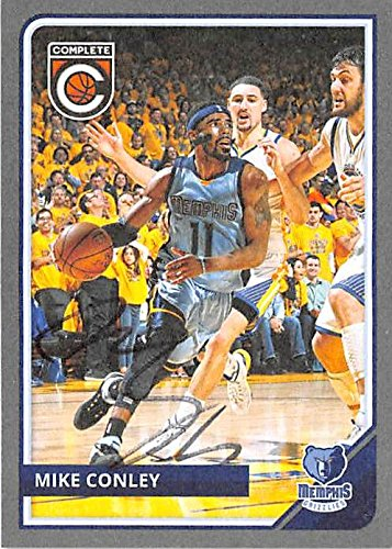 Mike Conley autographed Basketball Card (Memphis Grizzlies) 205 Panini Complete Silver #180