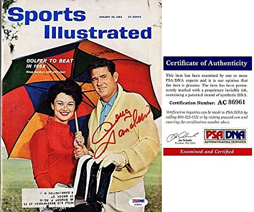 Doug Sanders Autographed Signed Original 1962 Sports Illustrated Magazine - PSA/DNA Authentic 1962 Sports Illustrated Magazine