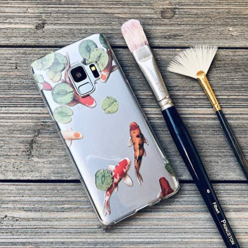 (Koi Pond Samsung Galaxy Case for S6, S7, S8, S9 and Edge)