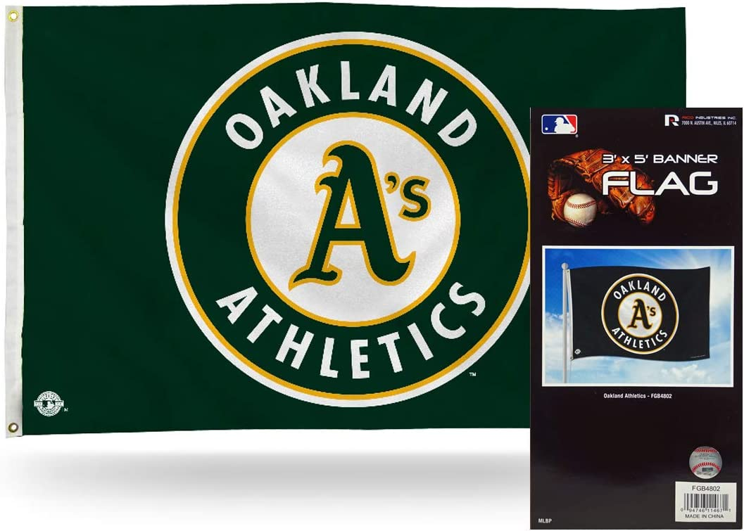 WinCraft Oakland As Nation Flag 3x5 Banner