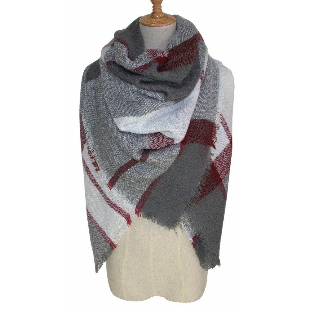 Womens Long Scarf,Fashion Soft Warm Wrap Shawl Changeshopping
